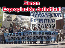 Apoyo a los/as obreros/as de Zanon