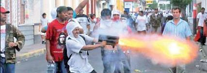 Fuera el imperialismo yanqui de Nicaragua
