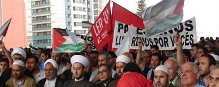 Importante ato contra o massacre sionista ao povo palestino