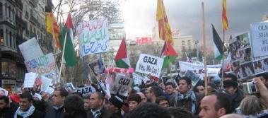 """""""Somos todos palestinos""""... por las calles del Estado Español"""