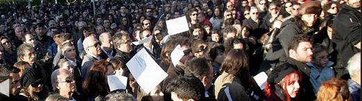 Soziale Revolte gegen Krise und Elend