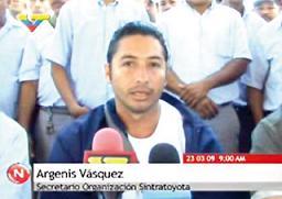 Otro dirigente obrero asesinado por sicarios de las patronales en la Venezuela de Chávez