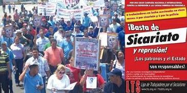 Contra los asesinatos obreros