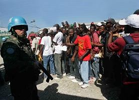 ¡Fuera yanquis de Haití!