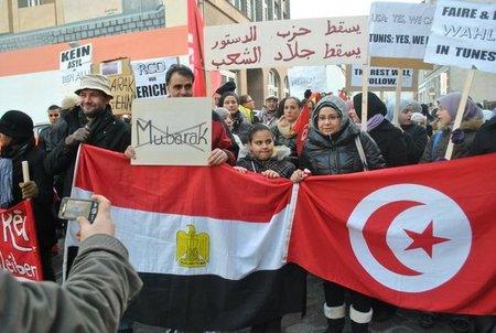Aufruf: Solidarität mit dem Kampf des ägyptischen Volkes und der anderen arabischen Völker