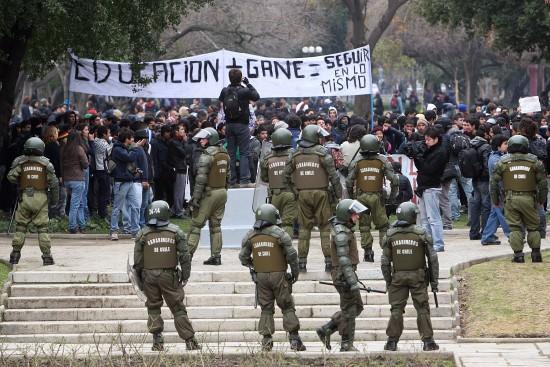 La gran lucha estudiantil en Chile