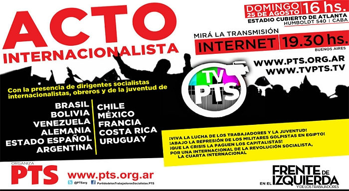 Acto Internacionalista FT-CI