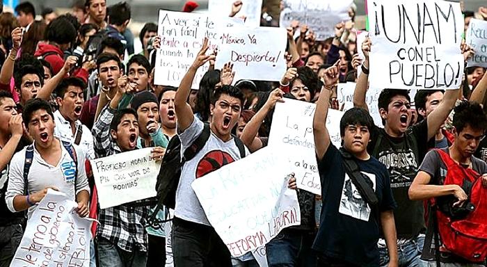 Continúa la lucha del magisterio mexicano