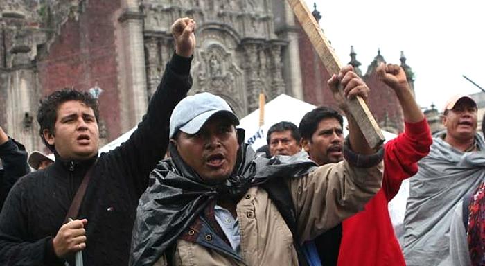 Proteste der LehrerInnen in Mexiko!