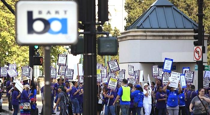 California, EEUU: Una semana de huelga de los trabajadores del transporte