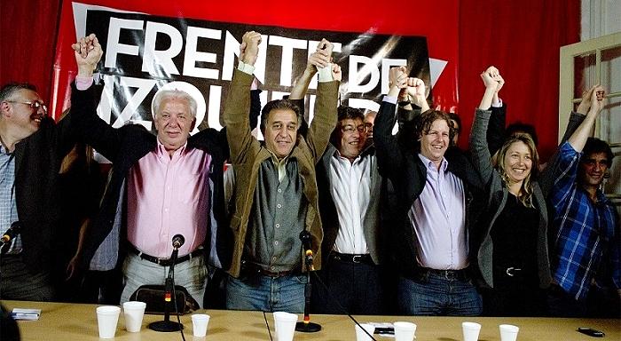 Histórica eleição da Frente de Esquerda
