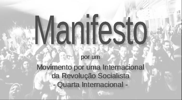 Por um Movimento por uma Internacional da Revolução Socialista -Quarta Internacional-