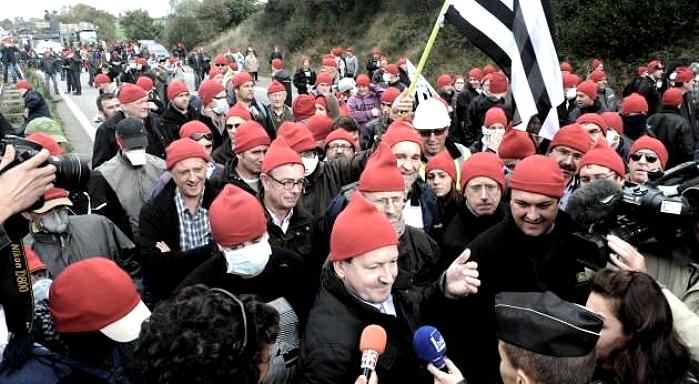 Francia: Rebelión bretona contra el gobierno de Hollande
