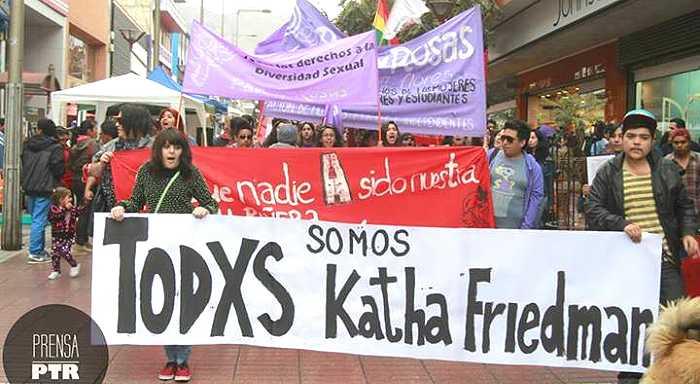 Repudio a la agresión transfóbica a Kathalina Friedman