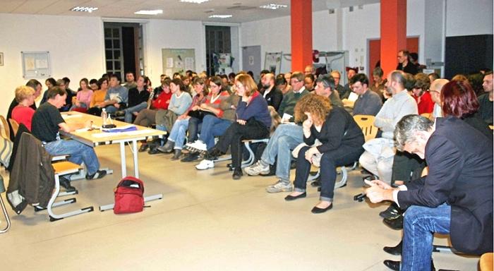 Franc succès de la rencontre «Capitalisme, souffrance et harcèlement au travail» jeudi 21 novembre dernier ã Toulouse