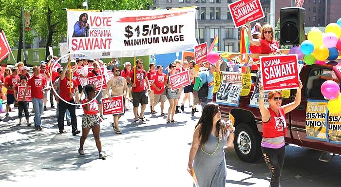 La victoire de l'extrême gauche aux élections locales de Seattle