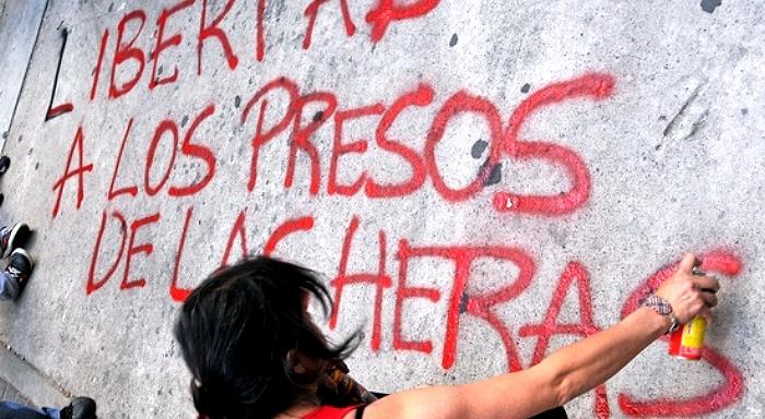 Dernière minute, Argentine. Des grévistes condamnés à la prison ã vie