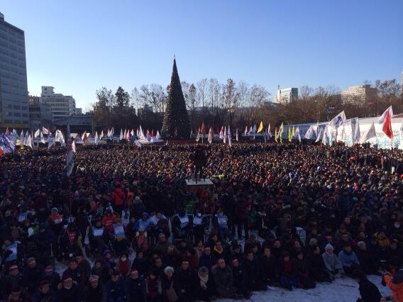 Una nueva batalla obrera en Corea del Sur