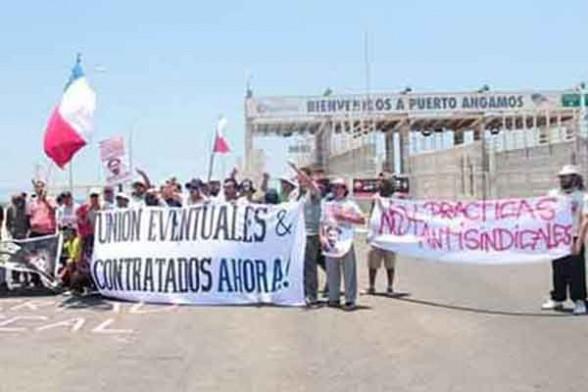 Viva a Greve do Sindicato de Trabalhadores Contratados e Temporários Unidos!