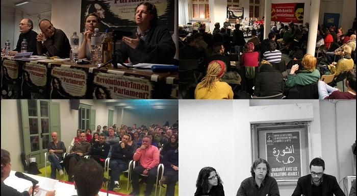 Viagem internacionalista de Christian Castillo pela Europa