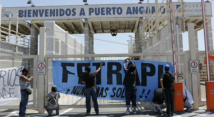 Chile: Dockworkers are once again on strike. Victory to the dockworkers!