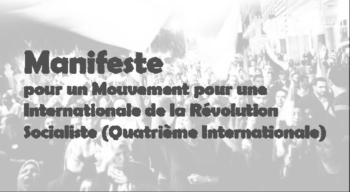 Pour un Mouvement pour une Internationale de la Révolution Socialiste -Quatrième Internationale-