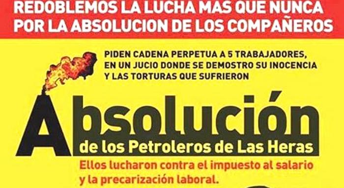 Solidarität mit den Arbeitern von Las Heras!