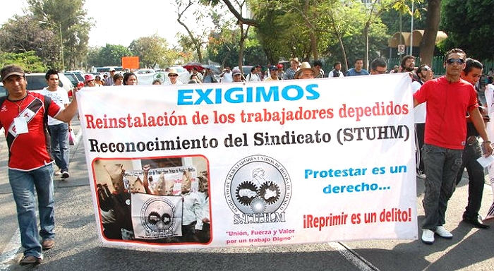 Firmá en solidaridad con los trabajadores del STUHM-Sindicato de Trabajadores Unidos de Honda de México