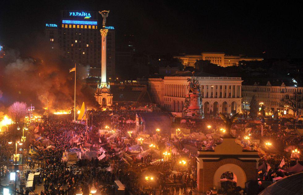 Ucrania a fuego y sangre