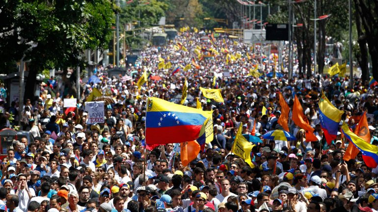 The political crisis in Venezuela