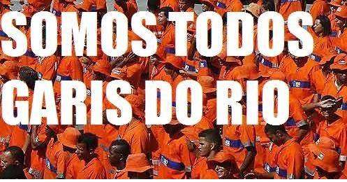 Solidariedade ativa a luta dos trabalhadores garis no RJ