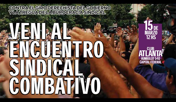Argentine: Towards a National Conference of Fighting Unions