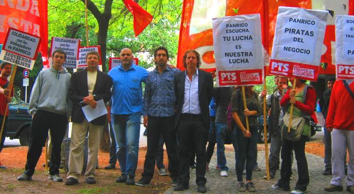 Argentina: Concentración en embajada del Estado español en apoyo a trabajadores de Panrico Barcelona