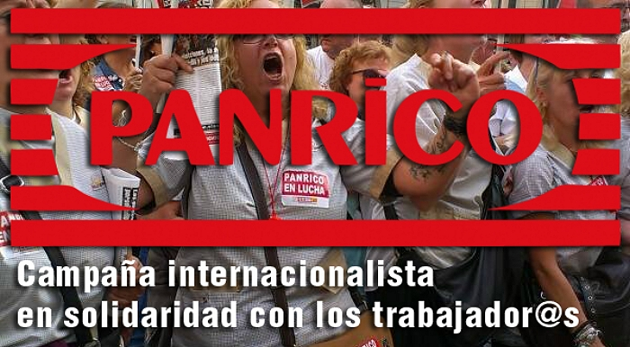 Panrico: Campaña Internacional de Solidaridad