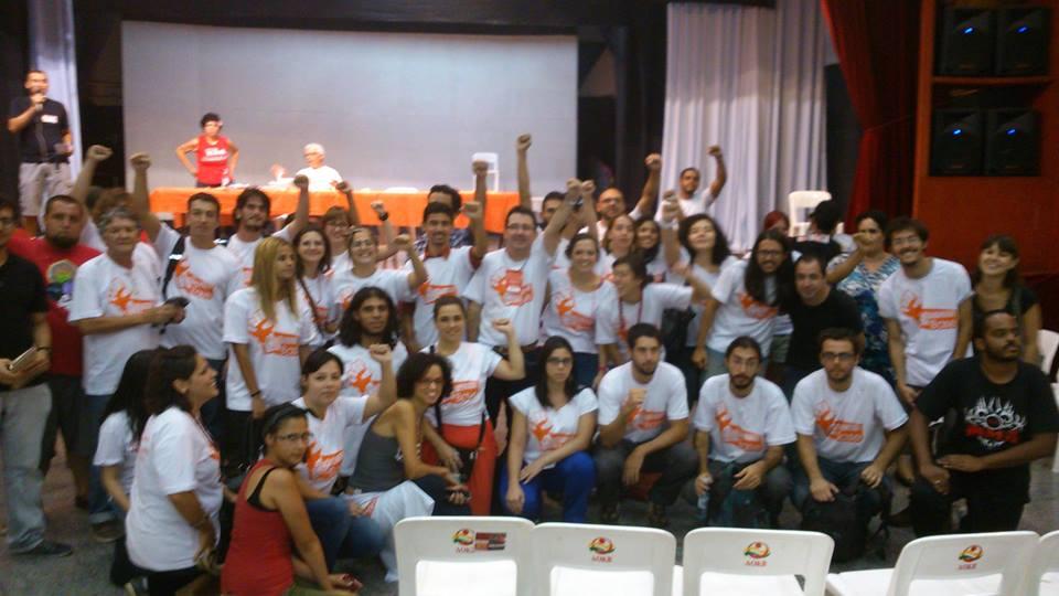 Professores pela Base faz expressiva atuação na convenção da Oposição Alternativa