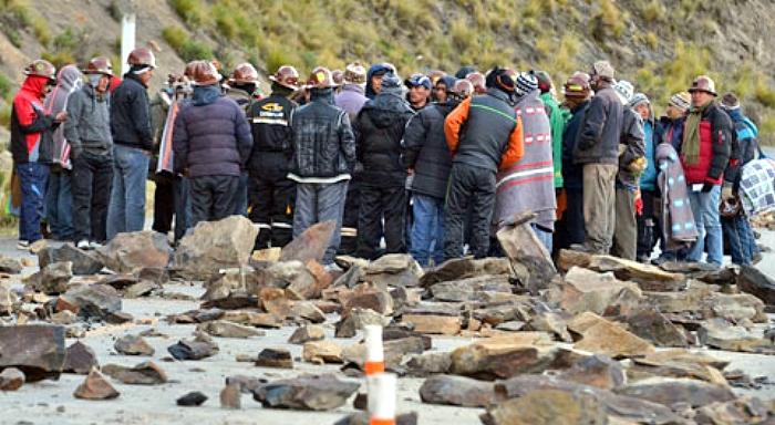 La proimperialista Ley Minera del MAS en la picota