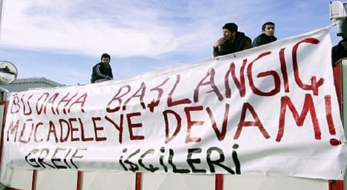 Turkey: Occupying the Greif Factory