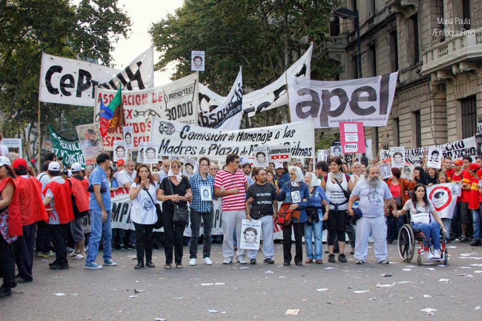 Argentina: March24-The plazas and streets belong to the fighters and the left