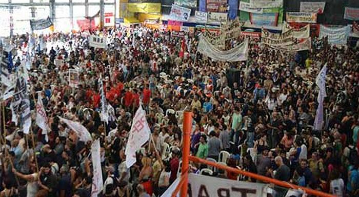 Argentina: April 10th. National Active Strike
