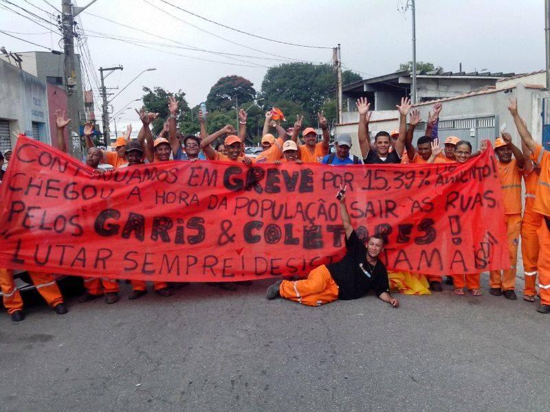 Con la basura en el piso, surge un nuevo movimiento obrero