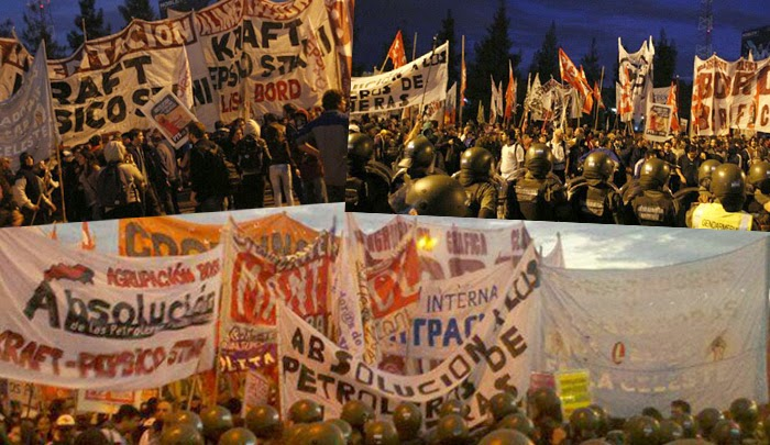 Argentina / April 10: National Strike and roadblocks of the Fighting Unions and the left
