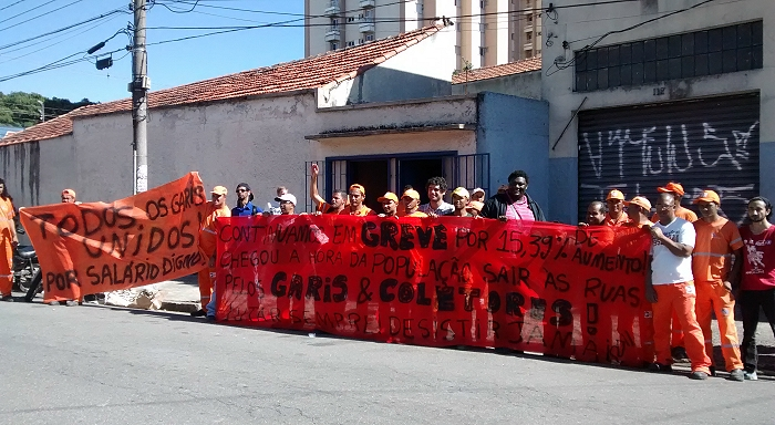 Brazil: Statement on the Sao Paulo sanitation workers strike