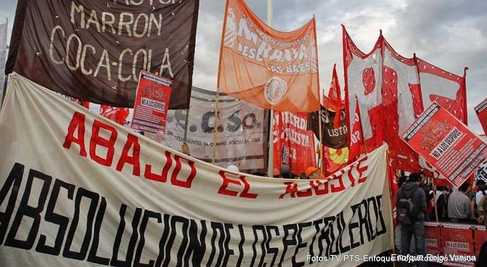 """Argentina: Paralisação nacional do 10 de Abril, """"a unidade do movimento operário com a esquerda"""" e a construção de um partido leninista de vanguarda"""
