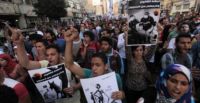Egito: assim avança a