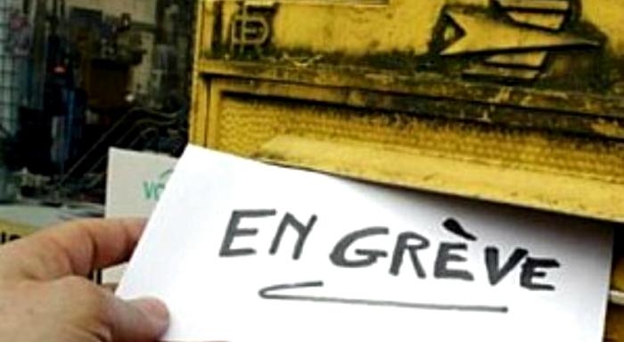¡Todo el apoyo a la Huelga en el Correo en el departamento parisino 92!