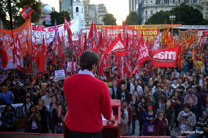 de Mayo, lucha de clases y lucha política