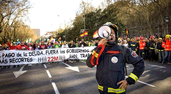 Spanischer Staat: Vom 15M zum 22M