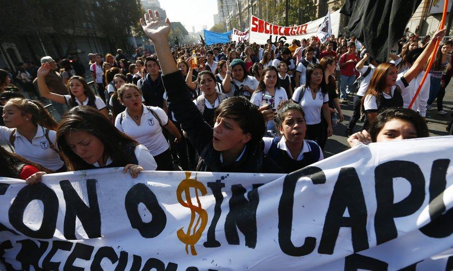 El movimiento estudiantil sigue mostrando su fuerza en las calles