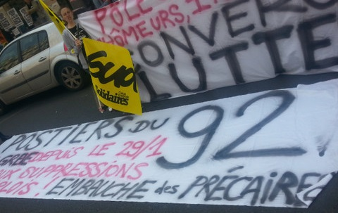 France: solidarity with the four postal workers of the Paris Arrondissement 92