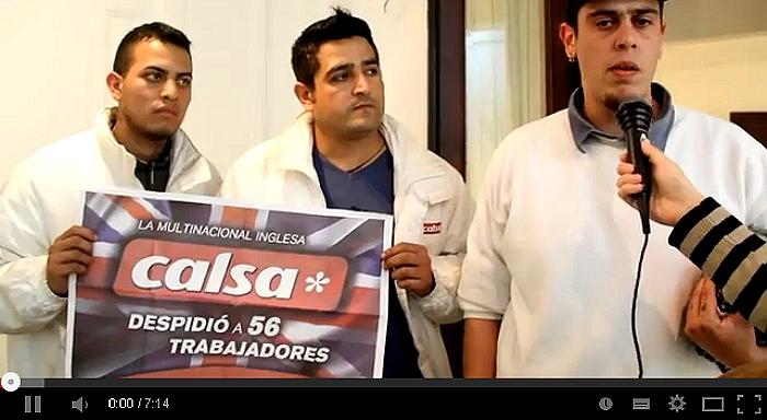 Argentina: Trabajadores despedidos de Shell y Calsa apoyan proyecto de ley contra los despidos y suspensiones